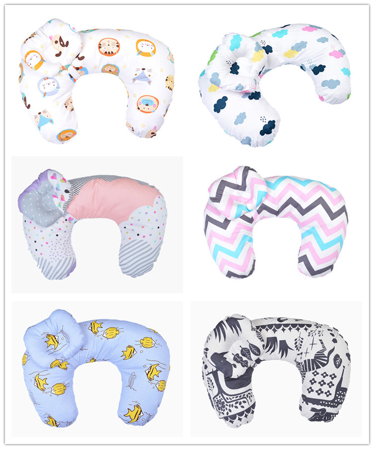 Cute Cartoon Pillows Cushion  Cartoon  Round Decorative Pillows Stuffed Breastfeeding Pillow YS010801