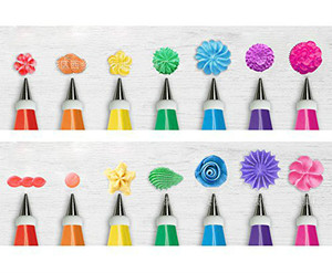 Image 4 - Cake Decorating 48Pcs/set Good Quality Stainless steel Icing Piping Nozzles Pastry Tips Set Cake Baking Tools Accessories GYH