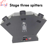 Stage three head flame thrower DMX control fire projector machine stage special effects three head lighters 110/220V 1pc