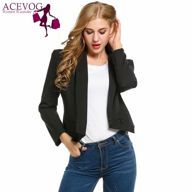 Women Blazer Casual Formal Jacket