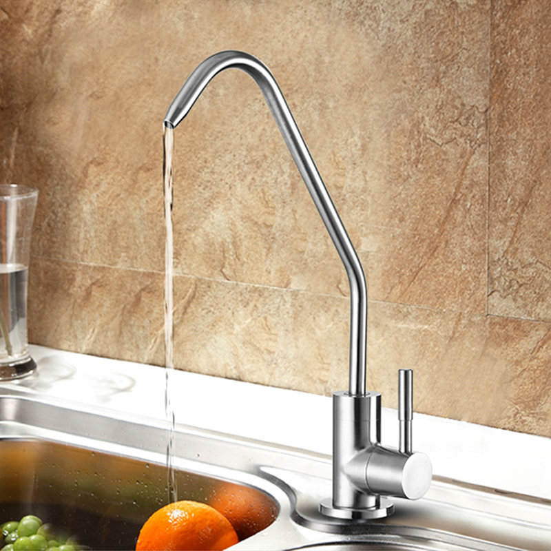 Single Handle Drinking Water Faucet Cold Water Filter Kitchen Faucet ...
