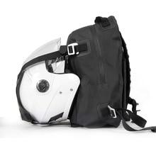 Men's Motorcycle Motorbike Helmet Bag Waterproof Motorcycle Backpack Touring Luggage Bag Motorbike Bags Moto Magnetic Tank Bag недорого