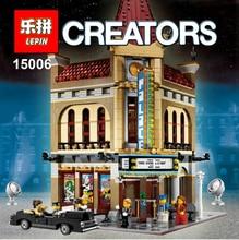 LEPIN block 15006  Palace Cinema Model Building Blocks 2354pcs Set Bricks  Toys for kids