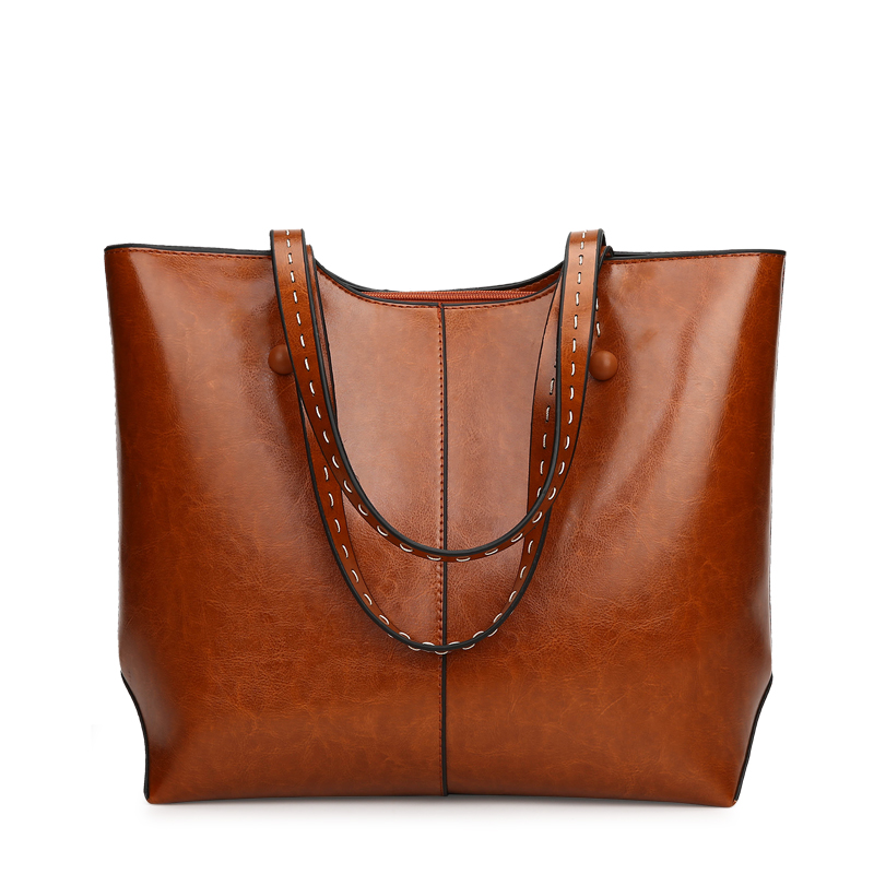 Brand New Women Handbags 2018 Fashion PU Leather Shoulder Bag Large Capacity Female Casual Tote Bags
