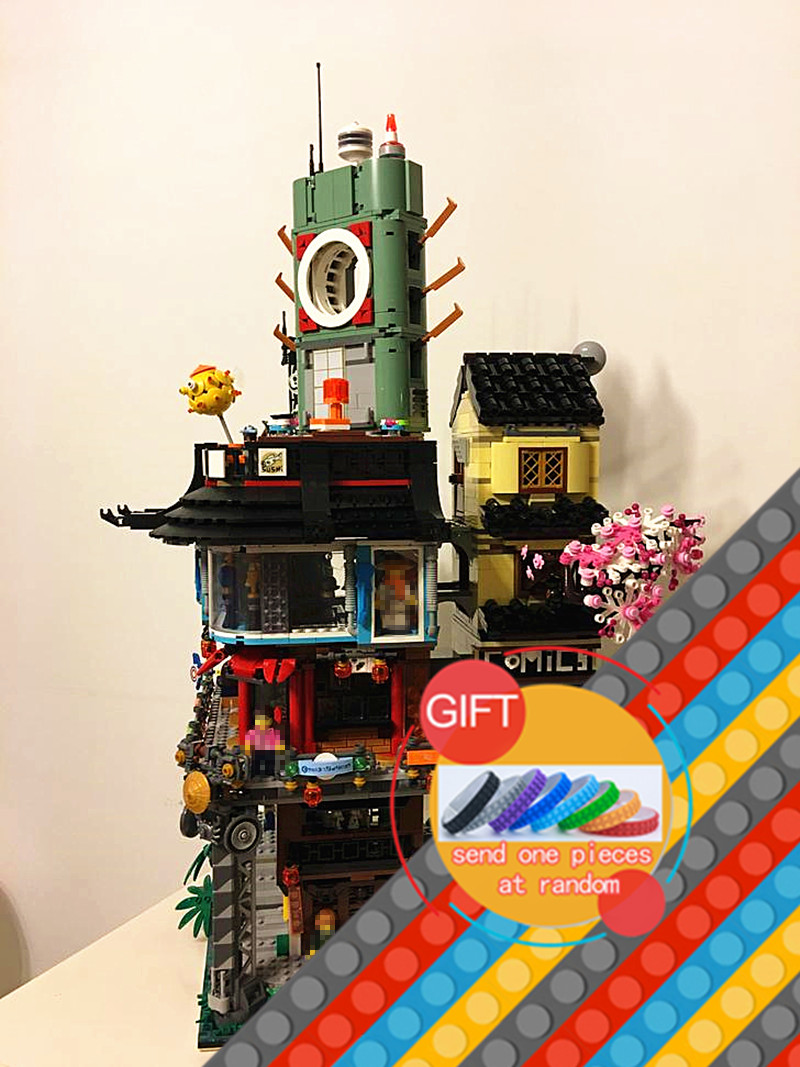 06066 4932pcs Ninja City Masters Series set Compatible with 70620 Building Blocks DIY Brick Toys lepin legoing chaos warriors caves 70596 ninja series 1307 building blcok set brick compatible 10530 toys for children gift