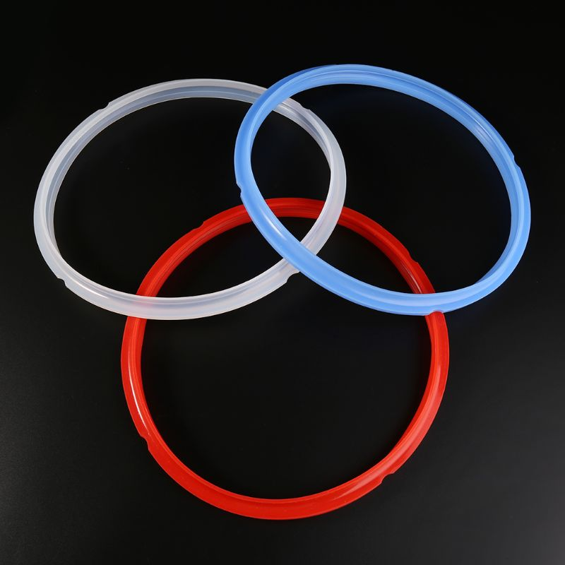 24CM Red Silicone Sealing Ring 8 Quart For Instant Pot Electric Pressure Cooker