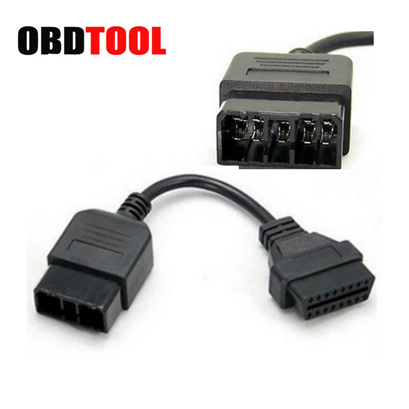 9 Pin OBD1 to 16 OBD2 Diagnostic Connector Cable Adapter Fit for Subaru Cars