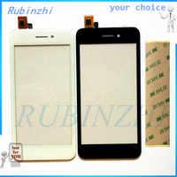 RUBINZHI + Band Telefon Touch Panel Für Fly FS459 Nimbus 16 Sensor Touchscreen Digitizer Ersatzteile Touchscreen Front Glas