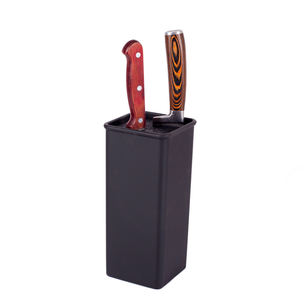 SATOSHI STAND FOR KNIVES WITH SEPARATORS 10 10 22 5cm knives stands high quality kitchen kitchenware