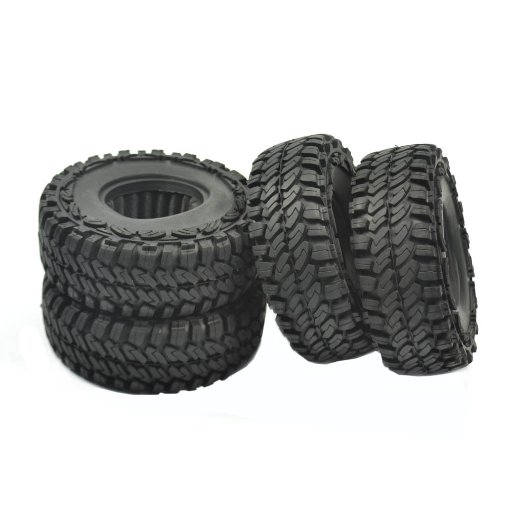 4pcs 114mm Off Crawler Car Tires Tyre for 1/10 RC Crawler Car 1.9 Inch Wheels