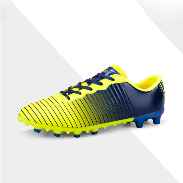 ecdbe22ec Long Spikes Soccer Shoes Grass Training Men s Outdoor Soccer Cleats Shoes  TF FG Football Boots Training Sports Sneakers Shoes