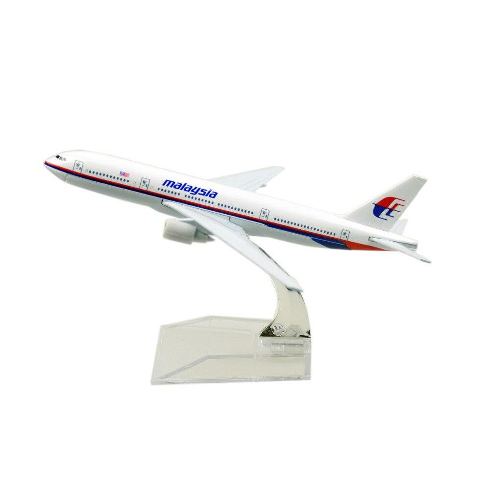 ჱMalasia Airlines Boeing 777 16 cm avión modelos niño Regalo de ...