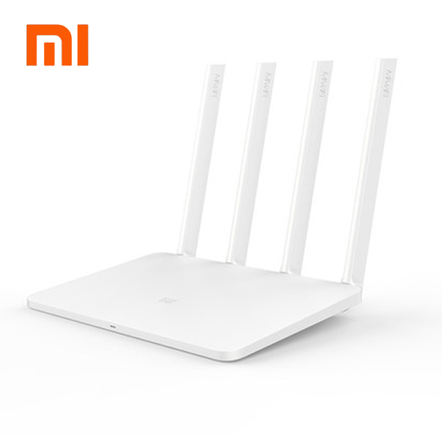 English Version Xiaomi Mi WIFI Router 3 11AC Dual Band 2.4/5G 1167Mbps 128M ROM/RAM  APP Control External USB storage
