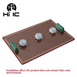 Image 2 - Prototype universel PCB pour 8 broches/9 broches Tube amplificateur préampli casque Valve Double face carte PCB