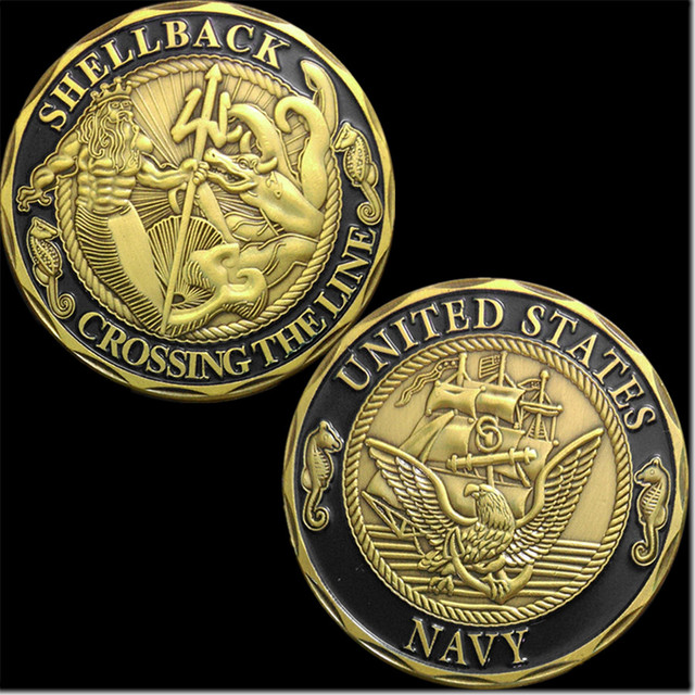 New us navy shellback crossing the line challenge coinfree new us navy shellback crossing the line challenge coinfree shipping ccuart Gallery