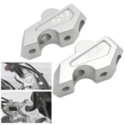 F750 GS kierownica piony zacisk do pręta rozszerzenia adaptera z śruby do BMW F750GS 2018 2019 f750gs CNC nowy|Kierownica|Samochody i motocykle -