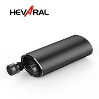 Hevaral бинауральные TWS Мини Bluetooth настоящие беспроводные стерео наушники с 2000 мАч портативные power Bank спортивная Гарнитура для Xiaomi