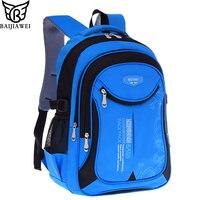BAIJIAWEI Hot Sale Children Backpacks Primary School Bags For Students Super Light Kids Backpacks Waterproof Schoolbags