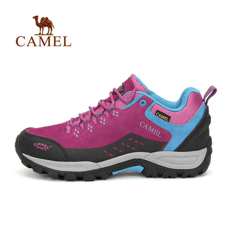 CAMEL Outdoor Shoes Women Hiking Shoes Low Slip-resistant Shock Absorption Hiking Climbing Shoes фотообои komar prayer flags ng 1 84х1 27 м 1 606