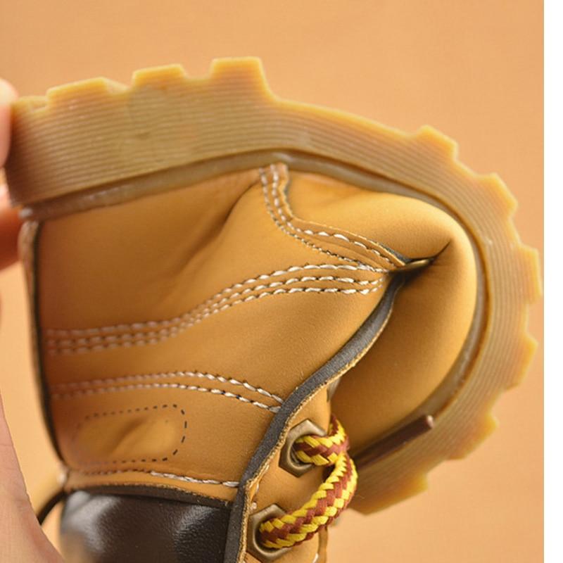 NUEVO 2016 niños de primavera Martin botas niños zapatos casuales - Zapatos de bebé - foto 6