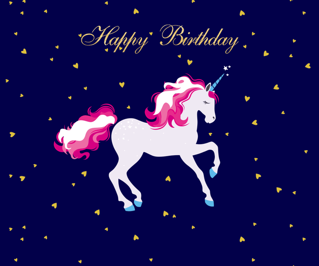 Unicorn Birthday Party Backrop Cake Table Banner Photo Backdropbaby Shower Magical Backrops W 311