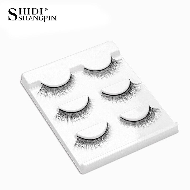 New 3 Pairs Eyelashes Make Up Eyelash Extension False Lashes Natural Long Makeup Fake Lashes False Eyelashes BL16