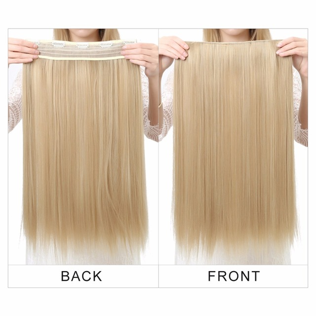 Women's 24in Straight Hair Extensions 2