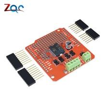 L298P Dual Channel Motor Driver Shield DC epper Driver Board for Arduino AVR/LPC/STM32 UNO/MEGA Motor-Driver Shield
