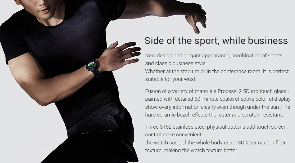 AMAZFIT STRATOS SMART SPORTS WATCH 2 2
