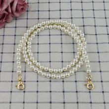 Pearl Chain Bag Strap Beaded Women  Accessories Gold Silver Buckle Long Belt For Luxury Shoulder Straps Wholesale