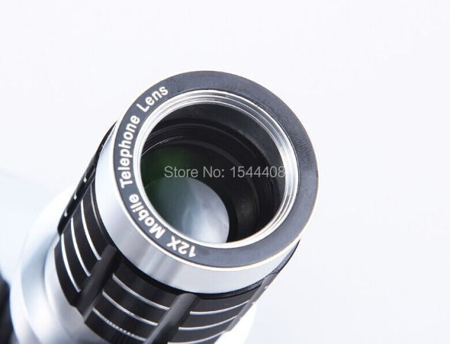 Universal zoom camera phone telephoto telescope lens case
