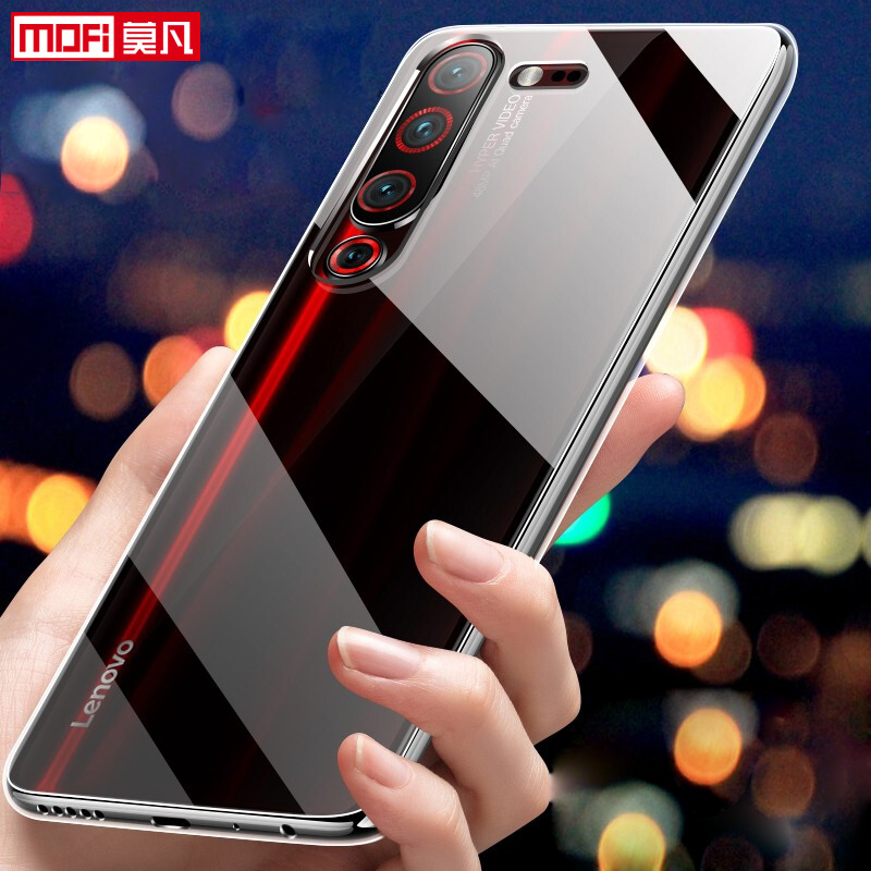 Image 2 - Lenovo Z6 Pro Case lenovo z6 pro cover case Ultra thin soft clear back silicone slim MOFi Lenovo Z6 Pro coque transparent case-in Fitted Cases from Cellphones & Telecommunications