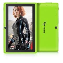 """Envío libre Yuntab 7 """"A33 Quad Core 1.5 GHz cuatro Colores Q88 7 pulgadas Tablet PC 1024×600 de Doble Cámara de 2500 mAh 8 GB"""