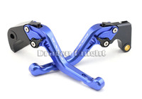 Motocycle Accessories For SUZUKI GSX-R 600 750 06-10 Short Brake Clutch Levers Blue
