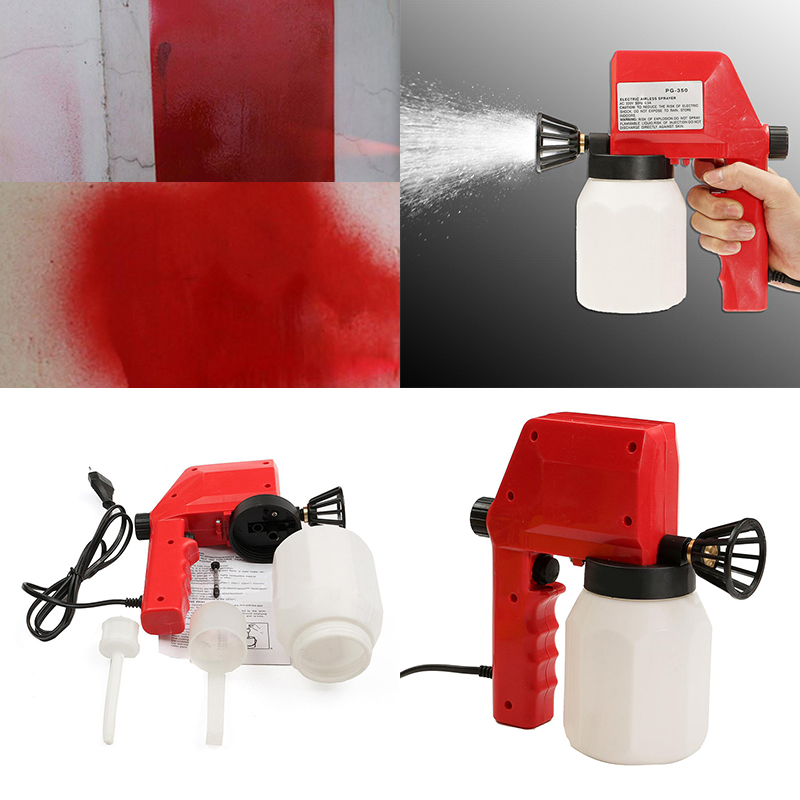 220V 600ml Electric Airless Paint Spray Gun Sprayer Home Hand Painting Spraying Tools for Home Decoration Car Painting Tool
