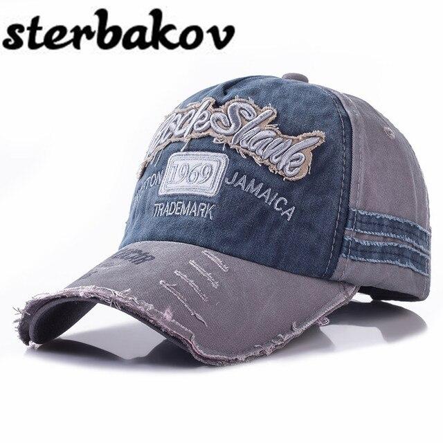 Merek Topi Baseball Pria Snapback Topi pria Topi Bisbol Antik topi Untuk  Pria Tulang Mepet Topi ea5b946e33