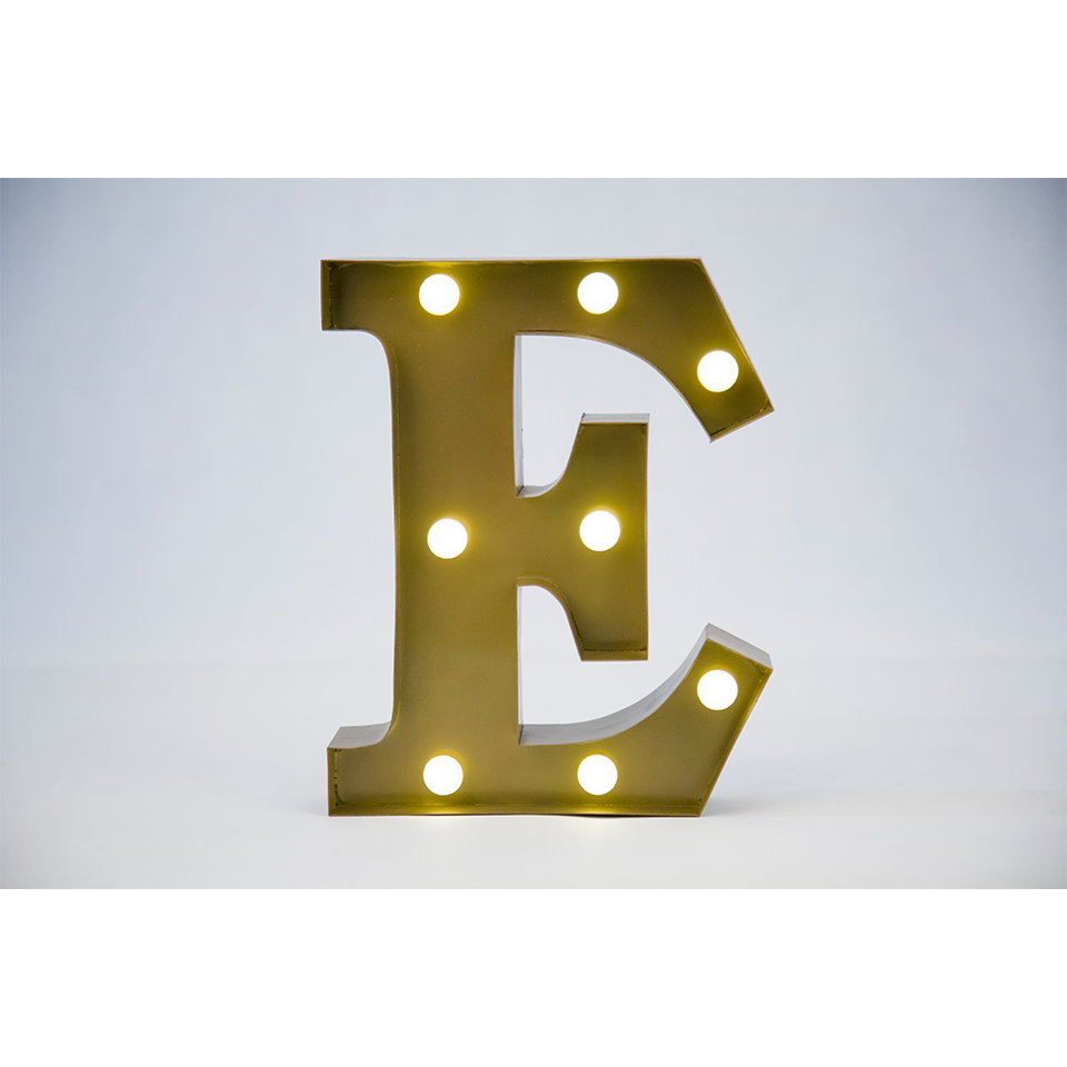 Wall Letters Light Up :