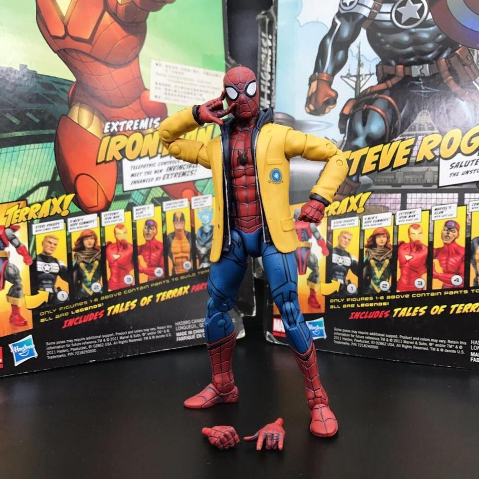 Marvel Legends Jackted Spiderman Homecoming Target Exclusive 6