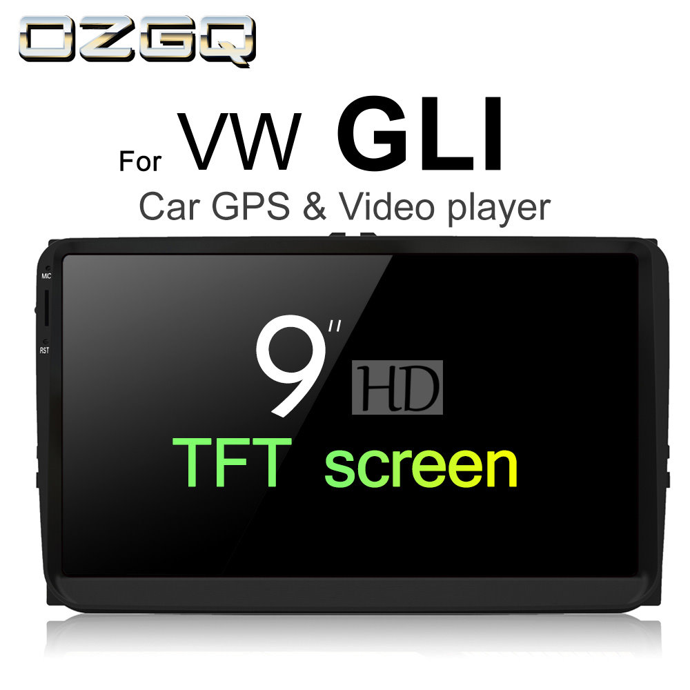 OZGQ Android 7.1 Car Player For VolksWagen VW GLI 2005~2011 HD Screen Auto GPS Navigatio ...