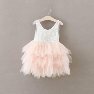 Розничная продажа 2018, летнее Кружевное платье-пачка для девочек, детское платье, летнее платье для девочек, BR12