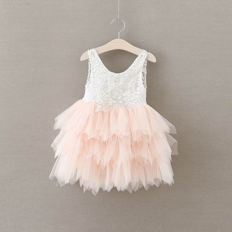 Retail 2018 Girls summer lace tutu dress , dress children , summer girls dress , BR12