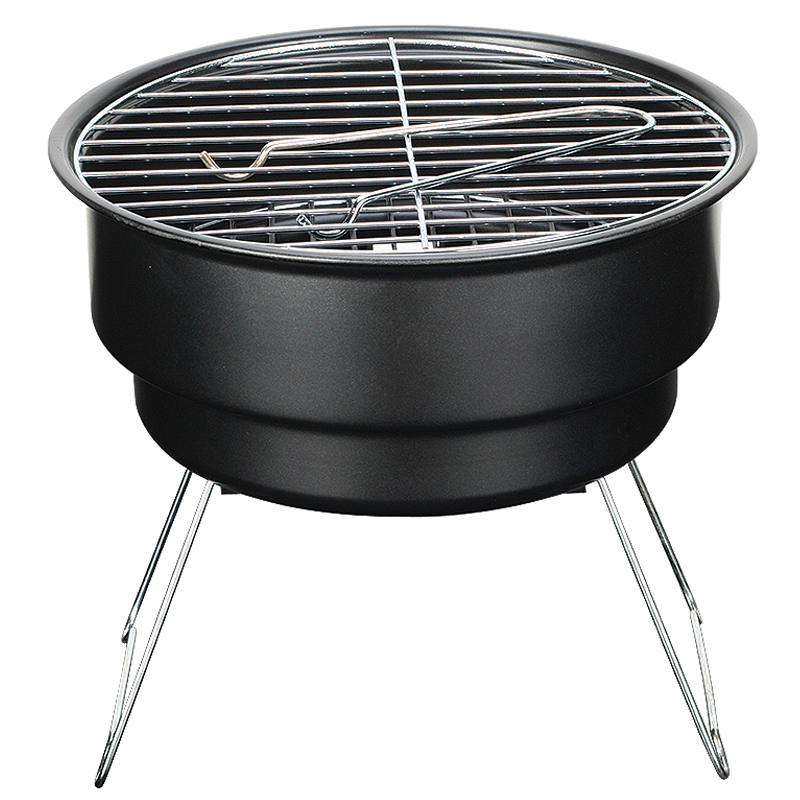 Light weight portable stainless steel bbq grill outdoor