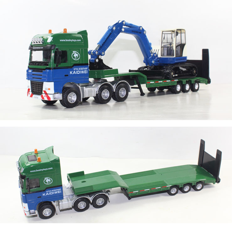 Toy Tractor Trailer Trucks : Popular tractor trailer toys buy cheap
