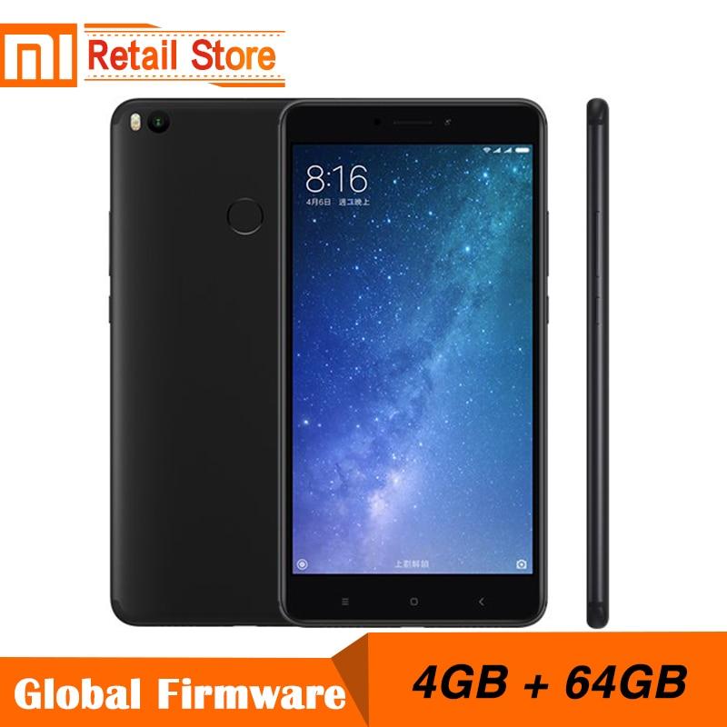 """Оригинал Сяо Mi Max 2 4 ГБ Оперативная память 64 ГБ 6.44 """"Дисплей Snapdragon 625 Octa Core мобильный телефон max2 12.0MP 4 К Камера IMX386 5300 мАч"""