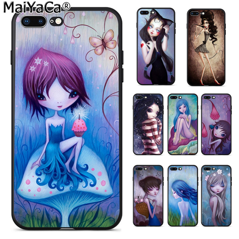 Cellphones & Telecommunications Maiyaca Purples Blues Novelty Fundas Phone Case Cover For Apple Iphone 5 5s Xr Se And 6s 7 8 Phone Case Phone Bags & Cases