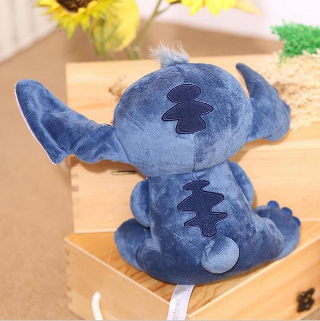 23cm Big Lilo and Stitch Stich Plush Toy Soft Stuffed Animal Doll