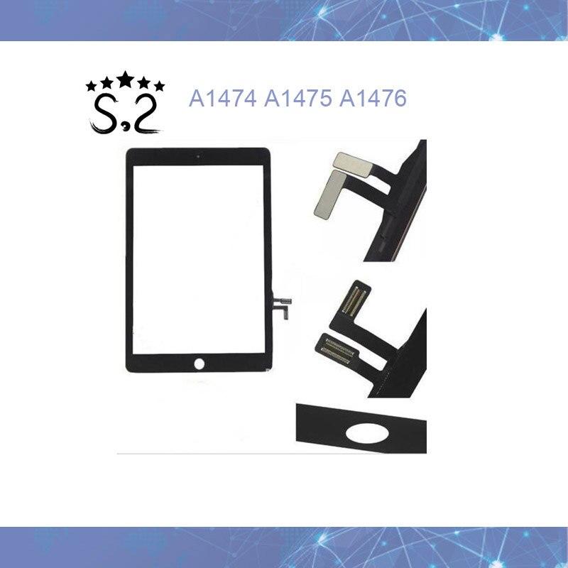 10 pcs Nouveau LCD Écran Tactile En Verre pour iPad Air 1 iPad 5 A1474 A1475 A1476 Avant Outer Lentille En Verre