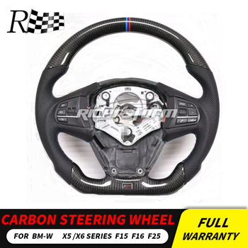 Carbon steering wheel For BMW X5 F15 F25 Carbon Fibre Racing Steering Wheel Replacement Accessories F15 F25 steering wheel
