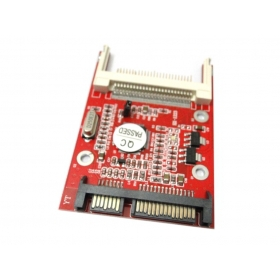 100pcs / lots CF Compact Flash Type 1 2 Merory Card to 2.5
