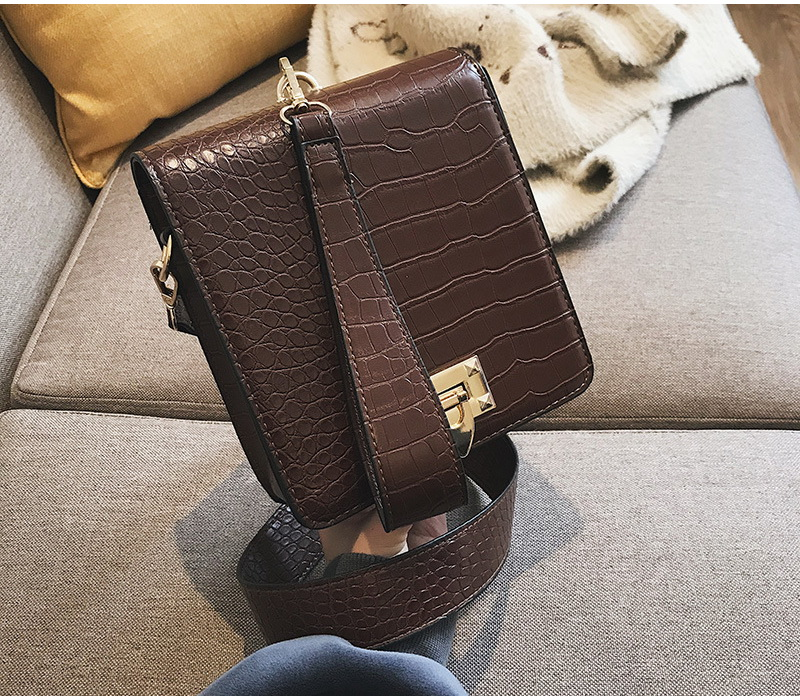 DIINOVIVO Fashion Alligator Female Handbags Designer Crossbody Bags for Women Small Square Bag Shoulder Messenger Purse WHDV0917 19